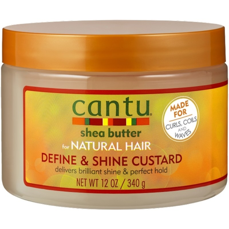 Cantu Shea Butter for Natural Hair Define & Shine Custard 340 gr.