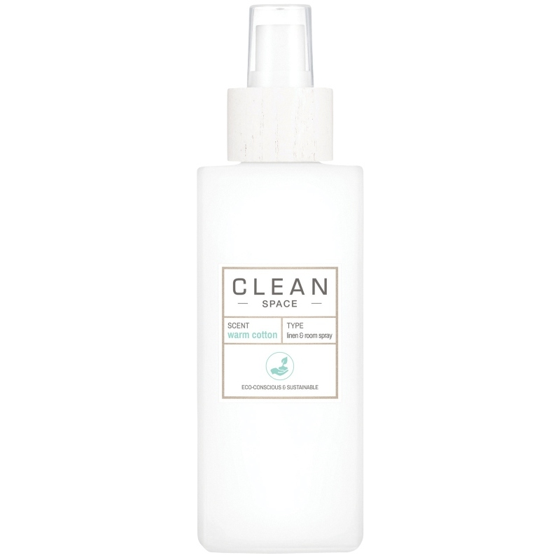 Clean Perfume Space Warm Cotton Linen & Room Spray 148 ml