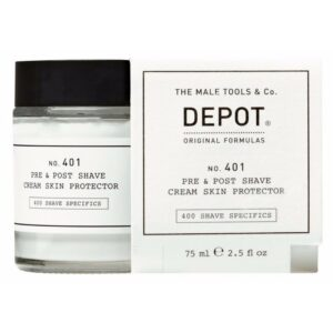 Depot No. 401 Pre & Post Shave Cream Skin Protector 75 ml (U)