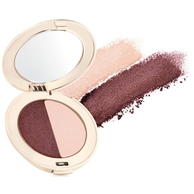 Jane Iredale PurePressed Eye Shadow Duo 2,8 gr. - Berries & Cream