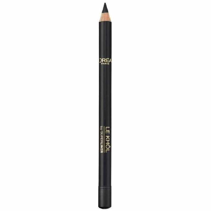L'Oreal Paris Cosmetics Superliner Le Khol - 101 Midnight Black
