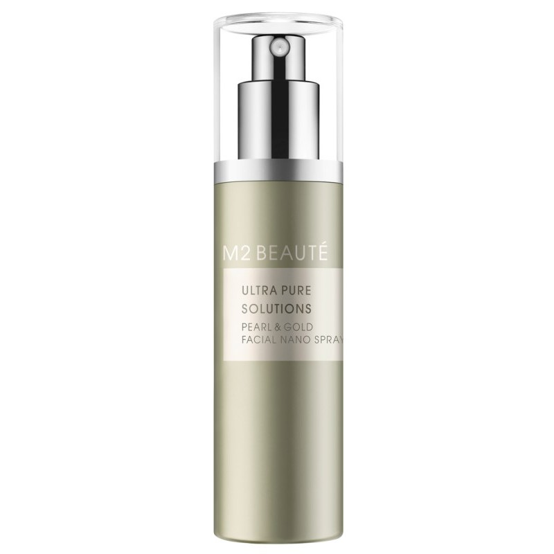 M2 Beaute Ultra Pure Solutions Pearl & Gold Facial Nano Spray 75 ml