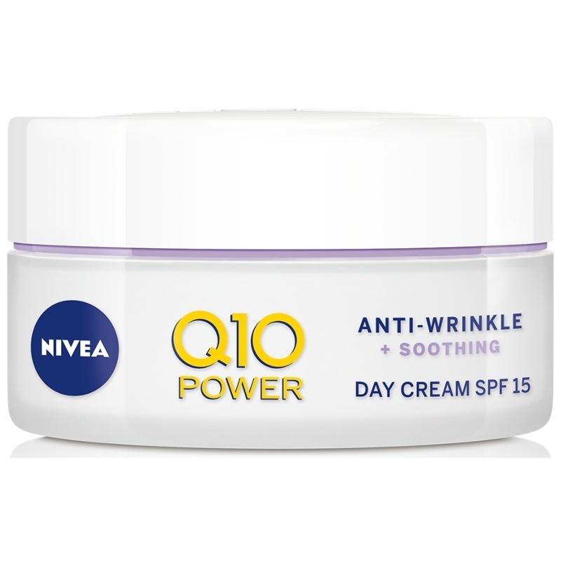 Nivea Q10 Power Anti-Wrinkle + Soothing Day Cream SPF 15 - 50 ml