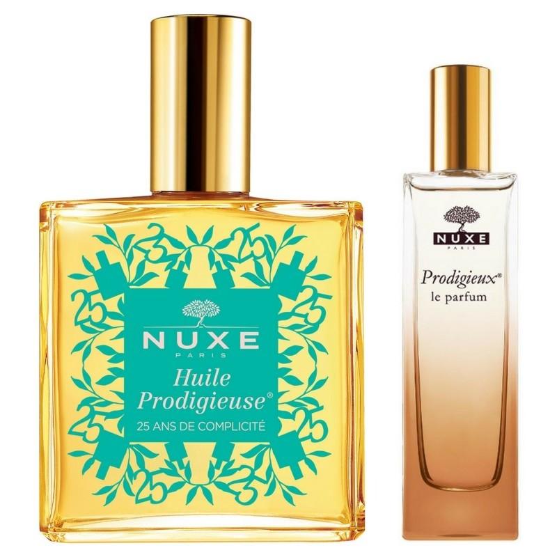 Nuxe Huile Prodigieuse Multi-Purpose Dry Oil 100 ml + Prodigieux Le Parfum 15 ml
