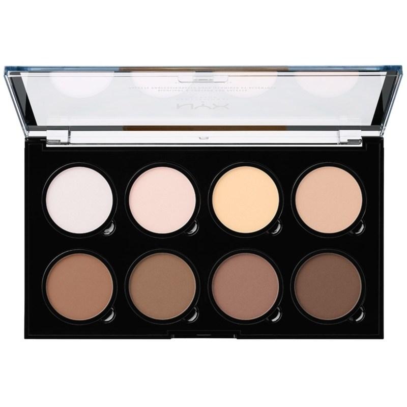 NYX Prof. Makeup Highlight & Contour Pro Palette 2,7 gr.