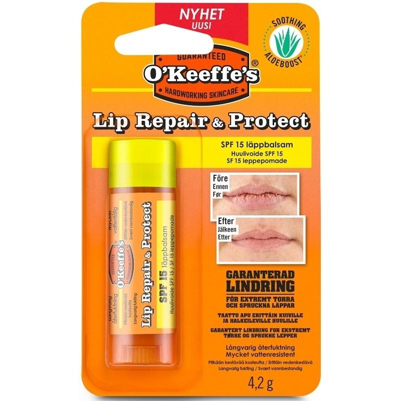 O'Keeffe's Lip Repair & Protect SPF 15 - 4,2 gr.