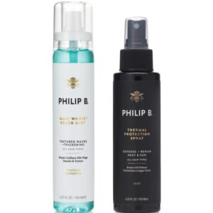 Philip B Beach Mist & Heat Protection Set