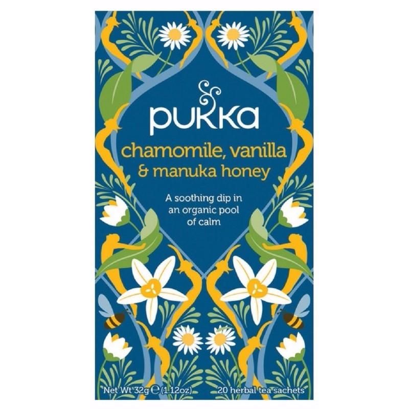 Pukka Chamomile, Vanilla & Manukahoney Te - �kologisk