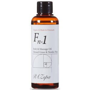 RAZspa Fn+1 Body & Massage Oil 100 ml - Mowed Grass & Nordic Pine (U)