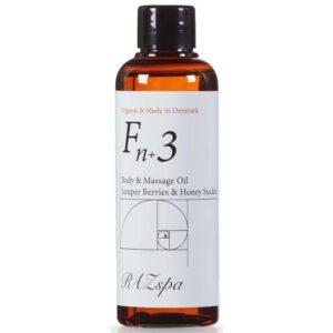 RAZspa Fn+3 Body & Massage Oil 100 ml - Juniper Berries & Honey Suckle (U)