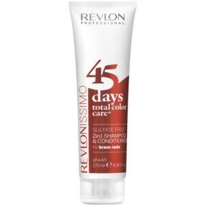 Revlon 2in1 Shampoo & Conditioner for Brave Reds 275 ml