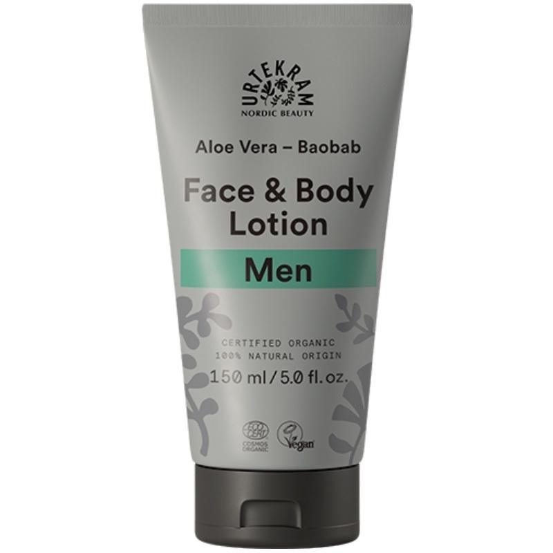 Urtekram Men Face & Body Lotion 150 ml