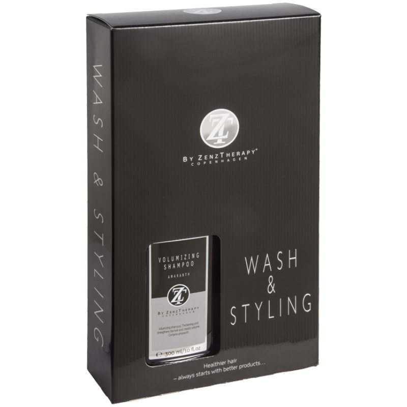 Zenz Therapy Wash & Styling Haircare Kit (Limited Edition)